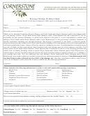 Massage Therapy Wellness Chart - Cornerstone Physical Therapy, Inc.
