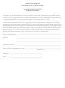 Amusement Tax Exemption Registration Form