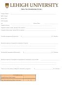 Sales Tax Itemization Form