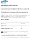 Enhanced Dental Benefits Enrollment Form