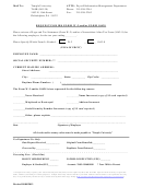 Request For Irs Form W-2 And/or Form 1042s