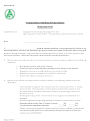 Transportation Of Students/private Vehicles Declaration Form