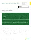 Practicum Internship Form - Saskatchewan
