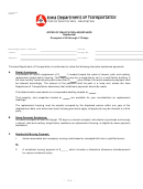 Offer Of Relocation Assistance - Iowa Department Of Transportation