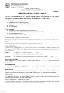 Memorandum Of Mortgage