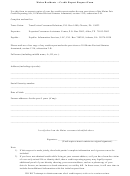 Maine Residents - Credit Report Request Form