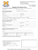Request For Consultation University Of Michigan Health System
