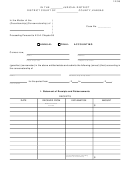 Guardian And Conservatorship Accounting Form