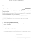Owner Title Policy Commitment To The Texas Department Of Transportation (form T-20)