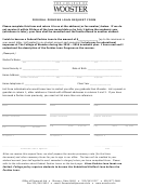 Federal Perkins Loan Request Form - The College Of Wooster