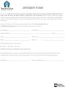 Texas Home Visiting Program Interest Form