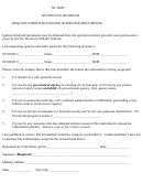 Request Form For Ignition Interlock Documents