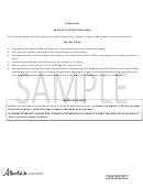 Schedule B - Address Authorization Form