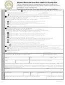 Standard Municipal Home Rule Affidavit Of Exempt Sale Form