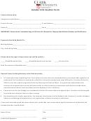 Vendor Information Form Clark University