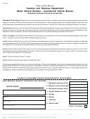 Form Mvd-10963 - New Mexico Weight Distance Tax Return