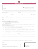 Residency Classification Form