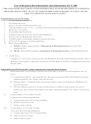 List Of Required Documentation And Information For N-400
