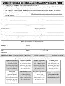 Alumni Transcript Request Form - Worcester Public Schools