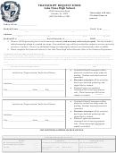 Transcript Request Form Lake Nona High School