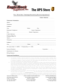 The Wine Box Package Receiving Service Agreement