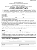Application For Non Coverage Or Exemption City Financial Assistance Recipient