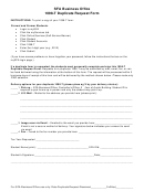 Sfa Business Office 1098t Duplicate Request Form