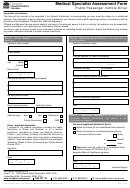 Medical Specialist Assessment Form - Public Passenger Vehicle Driver - Roads And Maritime Services