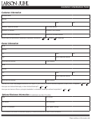 Customer Information Form - Larson Juhl