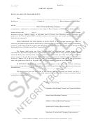 Form Mv-126-ds-p - Surety Bond Form Sample, Integrity Surety Bond Application