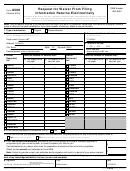 Form 8508 - 2015 Request For Waiver From Filing Information Returns Electronically