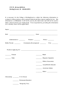 Eeoc Form For Job Applications