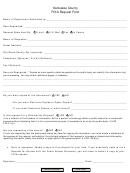 Foia Request Form - Kankakee County Health Department
