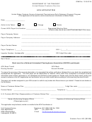 Form 400 - Ach Application - United States Customs Service