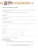 Auction Item Donation Form - Goodwill Of Orange