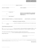 Form Sr-39 - Notice To The Director Of The New Jersey Motor Vehicle Commission