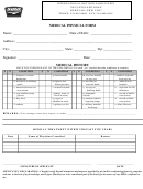Medical Physical Form - 24 Items