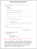 Reprint Request For Irs Form W-2