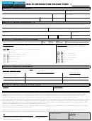 Health Information Release Form - Callen Lorde