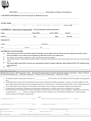 Authorization Form For Release Of Information