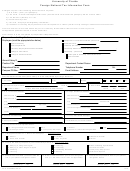 Foreign National Tax Information Form