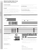 Form Hb27088m - Medco By Mail Order Form