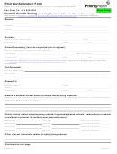 Prior Authorization Form - Priority Health