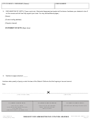 Admin Hearing Request Form - City Of Indio Form Ce-200 printable ...