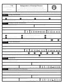 Fincen Form 110 Designation Of Exempt Person