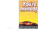 Stock Car Invitation