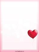 Balloon Heart Border