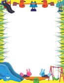 Nursery Toys Border