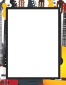 Big Guitar Border