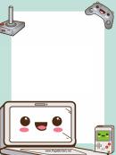 Computer Game Border